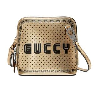 Gucci Sega Limited Edition Calfskin Crossbody Bag
